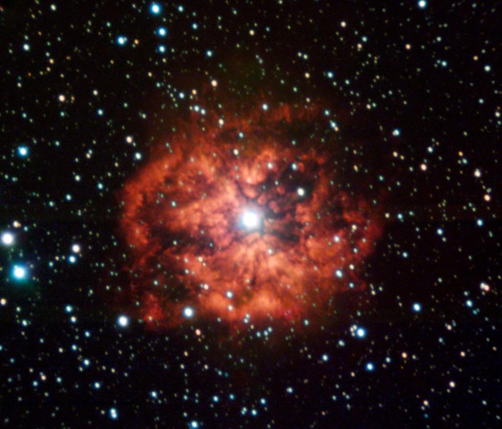 M1-67-a-wind-nebula-surrounding-Wolf-Rayet-star-WR-124